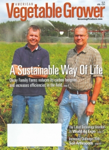 Cover of Vegetable Grower Magazine