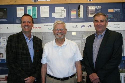 2019-07-22 Dan Rashke, Senator Mark Miller, Cliff Mason